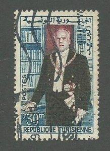 Tunisia Scott Catalog Number 385  Issued in 1960