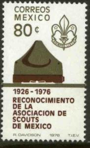 MEXICO 1147 50th Anniv Mexican Scouts Association MINT, NH, VF.