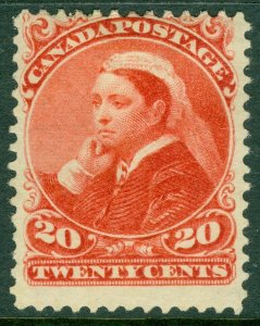 EDW1949SELL : CANADA 1893 Scott #46 Mint OG HR. Fresh color & Sound. Cat $400.00