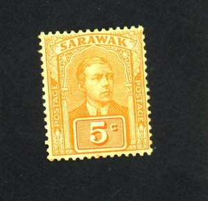 Sarawak #83 MINT F-VF OG HR Tiny thin Cat $14