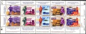 Canada -1996 Yukon Gold Rush Centenary Pane mint #1606i