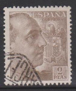 Spain Sc#703a Used