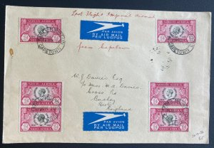 1936 Cape Town  South Africa Last Flight Airmail Cover to England