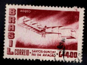Brazil Scott C84 Used airplane stamp
