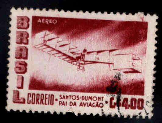 Brazil Scott C84 Used airplane stamp
