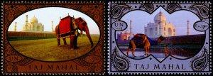 United Nations - Vienna Scott 546-547 (2014) Taj Mahal, Mint NH VF C