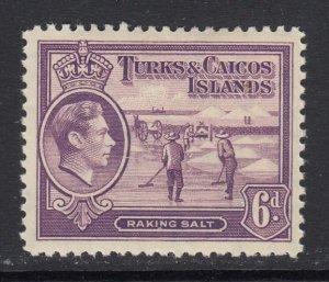 Turks & Caicos Islands, Sc 85 (SG 201), MHR