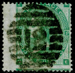 SG90, 1s green, USED. Cat £300. ME
