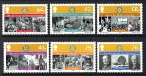 Isle of Man 1102-1107 Rotary MNH VF