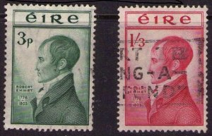 IRELAND 1953 Robert Emmet Fine Used