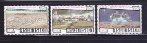 Ascension 215-217 Set MNH American Bicentennial (A)