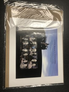 US FDC 4384 Civil Rights Pioneers First Day Of Issue  Complete Sheet Of 6 Stamps