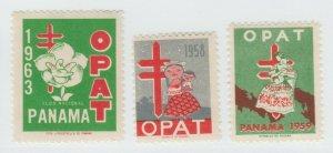Panama Charity BOB Postal stamp revenue fiscal 6-1-21-