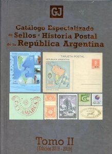 ARGENTINA SPECIALIZED CATALOGUE GOTTIG JALIL 2018 2 VOLUMES A MUST AS SHOWN