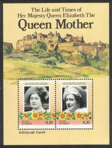 Tuvalu Nanumea Life and Times of the Queen Mother MS SC#45