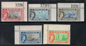 BAHAMAS 1964 QUEEN ELIZABETH II & ISLAND SCENE'S