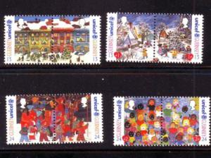 Guernsey Sc 560-3 1995 Christmas stamps mint NH