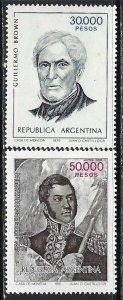 ARGENTINA 1372-73 MOG Z3193