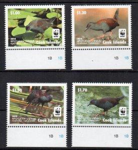 COOK ISLANDS - 2014 - BIRDS -