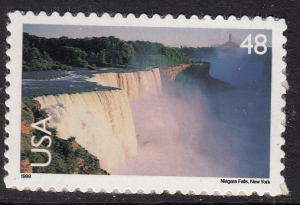 United States Air Post #C133 Niagra Falls, Please see description.