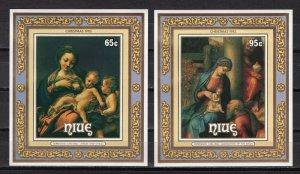 NIUE -  1985 Christmas - Paintings of Correggio, Italian Painter  M2147