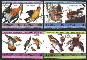 Tuvalu. 1985. 276V-83V. Birds, Odabon, fauna. MNH.