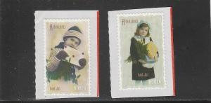 Norway  Scott#  1662-3  MNH  (2011 Christmas)