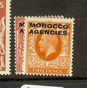 MOROCCO AGENCIES  (B1112)  SG66, 68  MOG