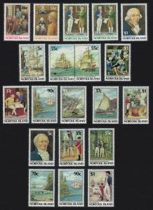 Norfolk Bicentenary Collection 20v SG#396=443