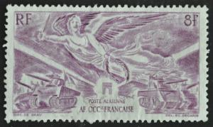 DYNAMITE Stamps: French West Africa Scott #C4 – USED