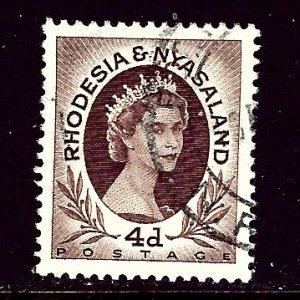 Rhodesia and Nyasaland 145 Used 1954 issue    (ap3962)