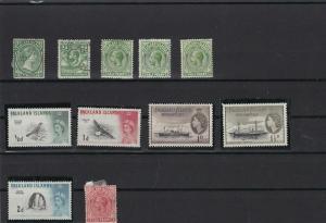 falkland islands stamps  ref r12493