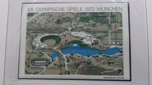 Germany 1972 Olympic Games - Munich, Germany Mint