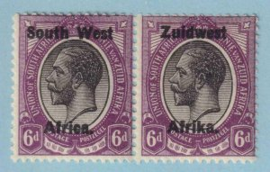 SOUTH WEST AFRICA 21  MINT HINGED OG * NO FAULTS EXTRA FINE!