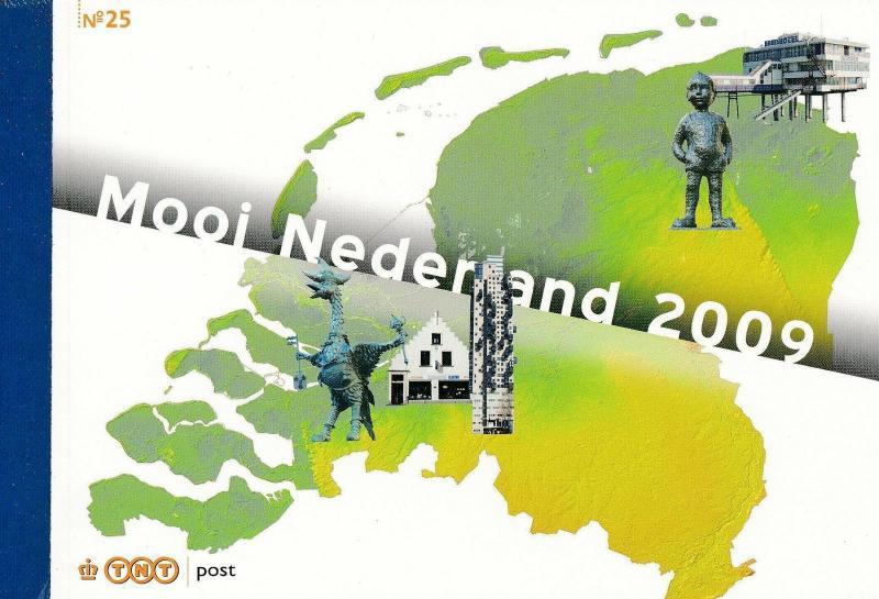 [20730] Netherlands Niederlande 2009 Prestige Booklet PR25 Beautiful Holland