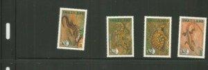 SWAZILAND REPTILES SCOTT 596-9 MNH