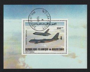 Space Shuttle - Souvenir Sheet Mauritania