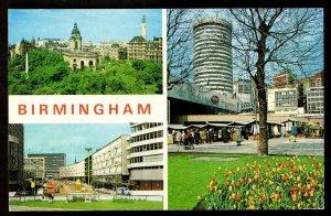 QSL QSO RADIO CARD Photos of Birmingham,England,Ken, (Q2877)