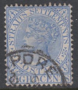 Straits Settlements Sc#50 Used