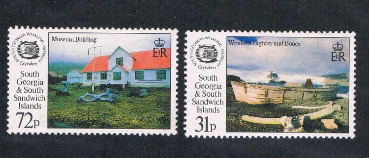 South Georgia 167;169 MNH (S0088)
