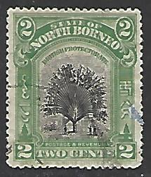 North Borneo #137 Used Single Stamp (U1)