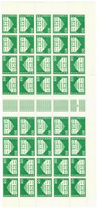 Switzerland 443 MNH Sheet of 40 Planta House, Samedan (SCV $12.00)