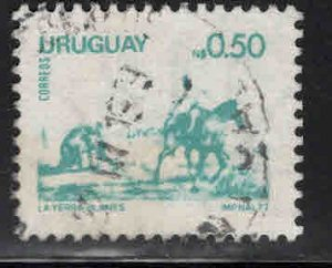 Uruguay Scott 954 Used  Horse stamp