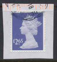 Great Britain - £2.65 Security Machin Used 2018 - No Source Code - Date Code 18