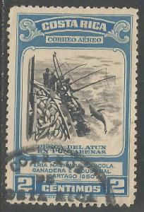 COSTA RICA C198 VFU I858-3