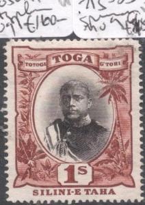Tonga SG 50a No Hyphen MOG (5dke)