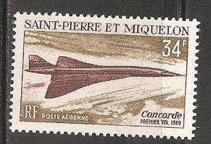 St Pierre & Miquelon SC C40 MNH