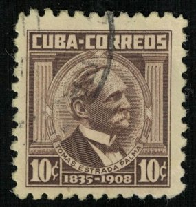 Tomas Estrada Palma, 10 cents, Cuba (Т-6118)