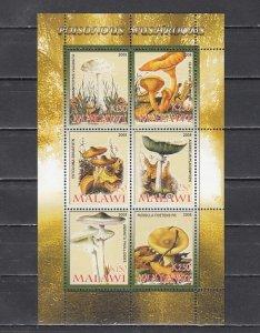 Malawi, 2008 Cinderella issue. Poisonous Mushrooms, sheet of 6. ^