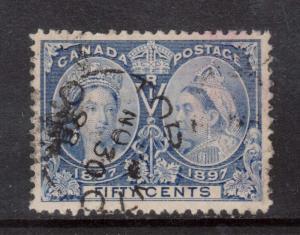 Canada #60 VF Used With Nov 30 1898 CDS Cancel